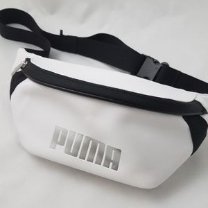 Puma fannypack NWT faux leather canvas strap